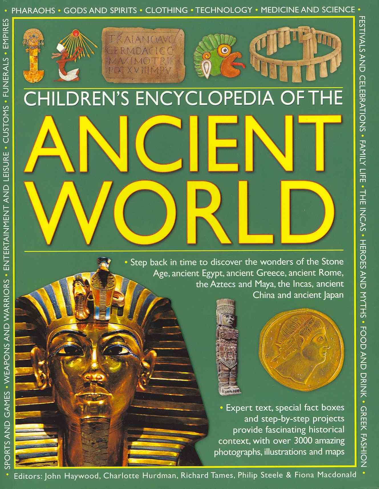 Children's Encyclopedia of the Ancient World By Haywood, John (EDT)